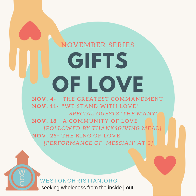 November Series: Gifts of Love