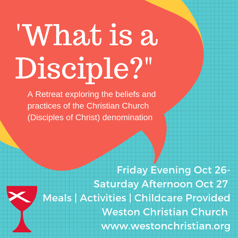 'What is a Disciple?' Retreat