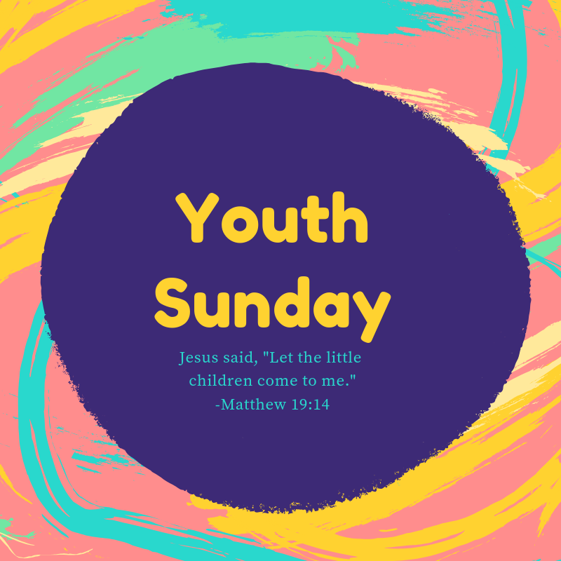 Youth Sunday at WCC 4/28